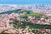 Residential districts of Barcelona — Stock Photo