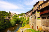 Medieval Catalan village — Stock Photo