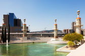 Parque de la Espana Industrial in Barcelona — Stock Photo