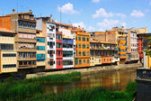 Picturesque houses in Girona — Photo