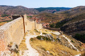 Old city wall in Albarracin — Stock Photo