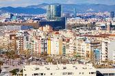 Widok od strony portu barcelona — Zdjęcie stockowe