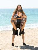 Man en vrouw kommuna — Stockfoto