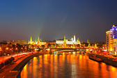 Moscow Kremlin in summer night  — Stock fotografie