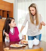 Women having quarrel — Stock Photo