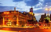 Plaza de cibeles à madrid — Photo