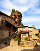 Old picturesque houses — 图库照片