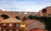 Teruel with Bridge — Stock Photo