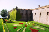 Castell de Montjuic in Barcelona — Stock Photo