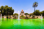 Cascada fountain  in Barcelona  — Foto Stock