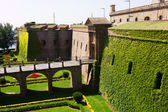 Castillo de Montjuic  in Barcelona — Stock Photo