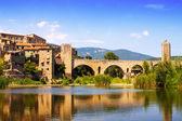 Medieval town Besalu — Photo