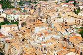 View of  Cardona roofs   — Photo