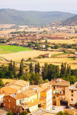 Rural view in  outskirts of Cardona — Stock Photo