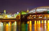 Pont de piétons bogdan khmelnitsky — Photo