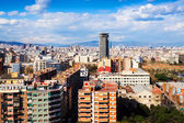 Barcelona from Montjuic hill. Catalonia  — Stock Photo
