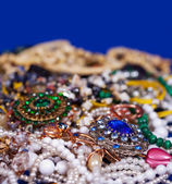 Jewellery background — Stock Photo