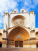Facade of Tarragona Cathedral  — Stock Photo