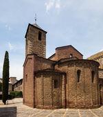 средневековая церковь в la seu d'urgell — Стоковое фото