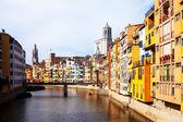 Girona in day time. Catalonia — Stock Photo