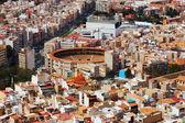 Alicante with arena — Stock Photo