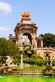 Cascada fountain in Barcelona — Стоковое фото