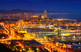 Port Vell and Barcelona — Stock Photo