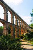 Roman aqueduct de les Ferreres — Stock Photo