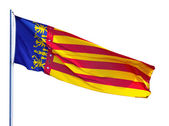 Flag of Valencian Community — Stock Photo