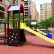 Playground area in city street — Stock Photo #50725843