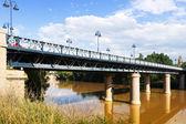 Puente de Hierro  over Ebro river  — Photo