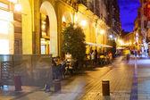 Portales street in evening. — Photo