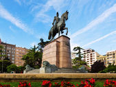 Monument of General Espartero — Stock Photo