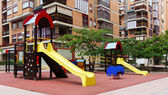 Playground  in city street — Stock Photo