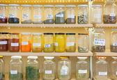 seasonings in jars — Stock Photo