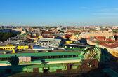Vue de dessus de saint-pétersbourg — Photo