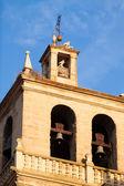 Belltower of Santa Maria de Palacio Church — Stock Photo
