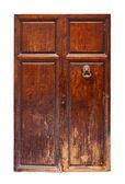 Vintage trä dörr. — Stockfoto