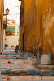 Street in old spanish city. — Stock Photo