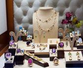 jewelry with gems  — Stock Photo