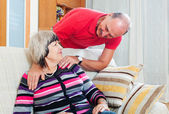 Loving  mature couple together — Stock Photo