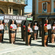 Protest against bullfighting — Stock Photo #50923801