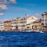 View of St. Petersburg. Palace Embankment — Stock Photo #50923815