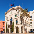 Old Town Hall in Badalona — Stock Photo #50929941