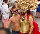 Gay pride parade in Sitges  — Foto de Stock