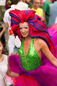 Gay pride parade in Sitges. Catalonia — Stock Photo