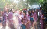 Batalla del vino - wine madness in Haro — Stock Photo