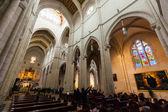 阿尔穆德纳大教堂的内部 — 图库照片