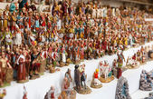 Figures for creating Christmas scenes — Stock Photo