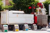 Carro de reciclaje — Foto de Stock